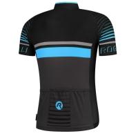 Rogelli Hero Koszulka czarno niebieska