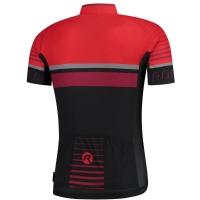 Rogelli Hero Koszulka czarno czerwona