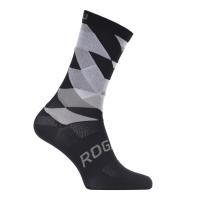 Rogelli RCS-14 Skarpetki rowerowe czarno białe