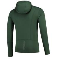 Rogelli Matrix Bluza z kapturem zielona