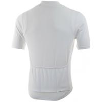 Rogelli Base Koszulka rowerowa z krótkim rękawem biała