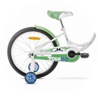 Romet Tola Rower junior 20 cali biało-zielony