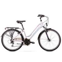 Romet Gazela 2 Rower trekkingowy 26 damski biały 2019