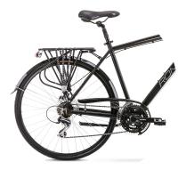 Romet Wagant 4 Rower trekkingowy 28 czarno biały 2020