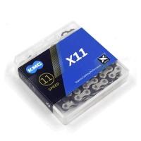 KMC X11 Łańcuch 11 rzędowy 118 ogniw + pin