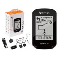 Bryton Rider 420E Licznik rowerowy komputer 80 funkcji +czujniki