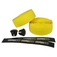 Controltech HT 7 Owijka na kierownicę żółta + korki