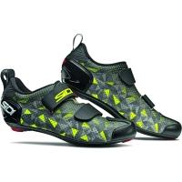 Sidi T-5 Air Carbon Buty triathlonowe szaro żółto czarne