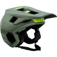 Fox Dropframe Pro Kask MTB Zielony