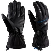 Viking Hudson GTX Rękawice narciarskie męskie czarne z niebieskim