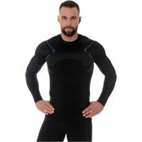 Brubeck Thermo Męska Koszulka termoaktywna czarna