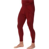 Brubeck Thermo Spodnie termoaktywne męskie bordowe