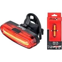 ProX Delta Lampka tylna LED 50 Lm aku USB