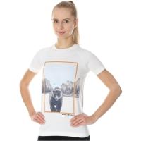Brubeck City Air Termoaktywna Koszulka damska biała