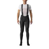 Castelli Sorpasso Ros Spodnie kolarskie na szelkach ocieplane czarne