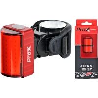ProX Zeta S Lampka tylna COB LED 80 Lm aku USB