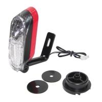 Trelock Lampka przednia do Haibike XDURO/SDURO czerwona