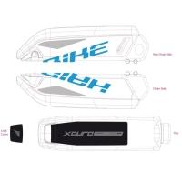 Haibike Naklejki na akumulator Bosch do XDURO Fullseven RC/Hardseven RC