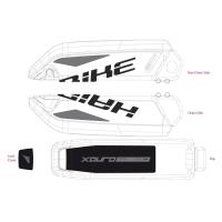 Haibike Naklejki na akumulator Bosch do XDURO Nduro Pro