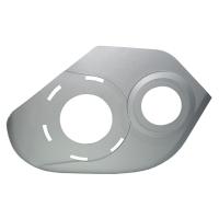 Winora Pokrywa silnika Bosch Gen2 do Sinus Ena prawa srebrna