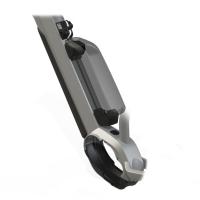 Haibike Range Extender Dodatkowy uchwyt baterii z zamkami i kluczami