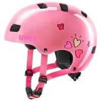 Uvex Kid 3 Kask Jasny Różowy