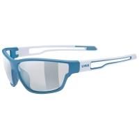 Uvex Sportstyle 806 V Okulary Niebieskie
