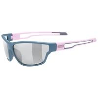 Uvex Sportstyle 806 V Okulary Różowo Szare