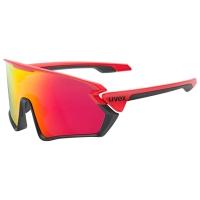 Uvex Sportstyle 231 Okulary Czerwone
