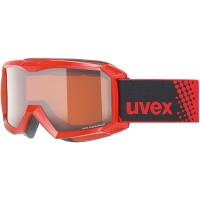 Uvex Flizz LG Gogle narciarskie junior dziecięce red lasergold clear
