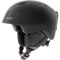Uvex Heyya Pro Dziecięcy kask narciarski snowboard black mat