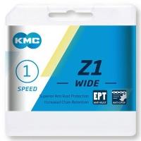 KMC Z1 Wide EPT Łańcuch 1 rzędowy 128 ogniw srebrny + spinka