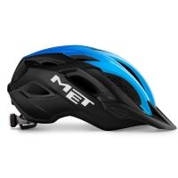 MET Crossover Kask czarno niebieski