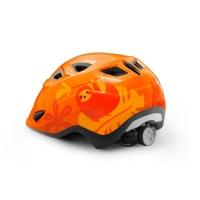MET Genio II Kask pomarańczowy