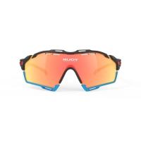 Rudy Project Cutline Okulary Czarno Pomarańczowe