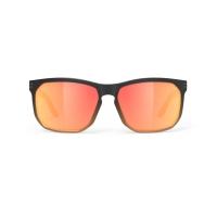 Rudy Project Soundrise Okulary Czarno Pomarańczowe