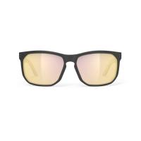 Rudy Project Soundrise Okulary Czarno Złote