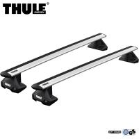Bagażnik Dachowy Thule WingBar Evo Vauxhall Astra Sports Tourer 5-dr Estate 16- Dach Normalny Srebrny