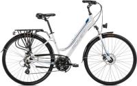 Rower Romet Gazela 2 Biało Niebieski