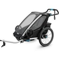 Przyczepka Thule Chariot Sport 1 Czarno Biała