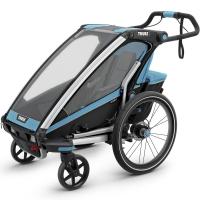 Przyczepka Thule Chariot Sport 1 Czarno Niebieska