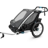 Przyczepka Thule Chariot Sport 2 Czarno Biała