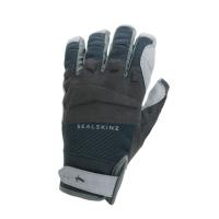 Rękawiczki SealSkinz All Weather MTB czarno szare