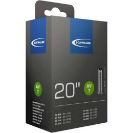 Schwalbe AV 7 Dętka 20 cali wentyl Auto 40mm