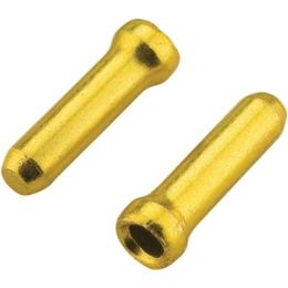 Jagwire Końcówka linki hamulca 1.8mm alu złota