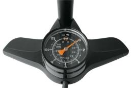 SKS Airkompressor 12.0 Pompka podłogowa z manometrem czarna