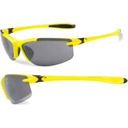 Accent Tempest Okulary rowerowe żółto czarne szara soczewka