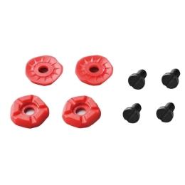 Shimano MTB Kołki niskoprofilowe z tworzywa czerwone