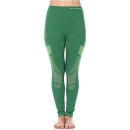 Brubeck Dry Spodnie termoaktywne damskie zielono limonkowe