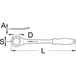 Unior Klucz do łożysk suportu XTR Dura Ace 1608/2BI